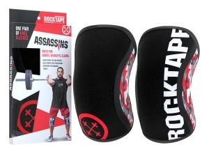 Assassins Knee Sleeves 7mm (kolor Red Camo)