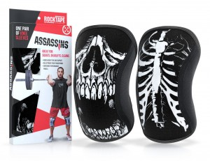 Assassins Knee Sleeves 7mm (kolor Skull)