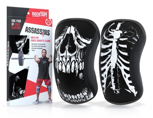 Assasins Knee Sleeves - Skull
